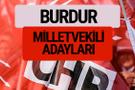 CHP Burdur milletvekili adayları isimleri YSK kesin listesi
