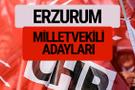 CHP Erzurum milletvekili adayları isimleri YSK kesin listesi
