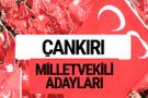 MHP Çankırı milletvekili adayları 2018 YSK kesin listesi