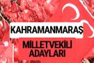 MHP Kahramanmaraş milletvekili adayları 2018 YSK kesin listesi