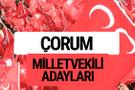 MHP Çorum milletvekili adayları 2018 YSK kesin listesi