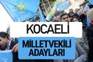 Kocaeli İyi Parti milletvekili adayları YSK kesin isim listesi