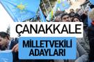 Çanakkale İyi Parti milletvekili adayları YSK kesin isim listesi