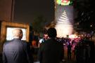 Başkan Uysal Video Mapping şovunu gençlerle birlikte izledi
