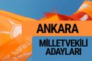 AKP Ankara milletvekili adayları 2018 YSK AK Parti kesin listesi