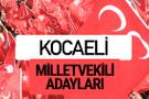MHP Kocaeli milletvekili adayları 2018 YSK kesin listesi