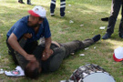 Adana'da davulcuların trajikomik kurtarma operasyonu