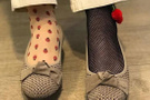 CHP'li vekilin  çılgın çorapları! Bakın neden böyle giyindi?