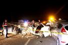 Nevşehir'de zincirleme trafik kazası: 16 yaralı