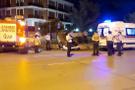 Alkollü sürücü Caddebostan'da taklalar atarak durabildi