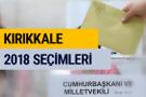 2018 Seçim Sonuçları Kırıkkale YSK seçim sonuçları