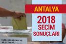 Antalya seçim sonuçları 2018 Antalya seçimi son durum