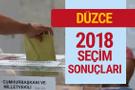 Düzce seçim sonuçları Düzce 2018 milletvekilleri sonucu