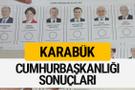 Karabük Cumhurbaşkanlığı seçim sonucu 2018 Karabük sonuçları
