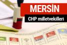 CHP Mersin Milletvekilleri 2018 - 27. dönem Mersin listesi