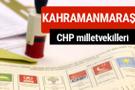 CHP Kahramanmaraş Milletvekilleri 2018 - 27. dönem Kahramanmaraş listesi