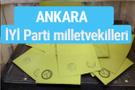 İYİ Parti Ankara milletvekilleri listesi iyi parti oy sonucu