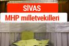 MHP Sivas Milletvekilleri 2018 -27. Dönem listesi