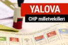 CHP Yalova Milletvekilleri 2018 - 27. dönem Yalova listesi