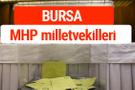 MHP Bursa Milletvekilleri 2018 -27. Dönem listesi