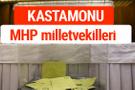 MHP Kastamonu Milletvekilleri 2018 -27. Dönem listesi