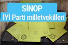 İYİ Parti Sinop milletvekilleri listesi iyi parti oy sonucu