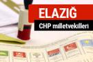CHP Elazığ Milletvekilleri 2018 - 27. dönem Elazığ listesi