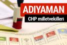 CHP Adıyaman Milletvekilleri 2018 - 27. dönem Adıyaman listesi