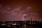 Meteoroloji uyarmıştı: İstanbul'da şiddetli yağış ve fırtına!