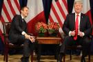 Trump'tan Macron'a şok öneri