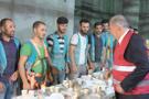 İBB Başkanı Uysal metro çalışanlarıyla sahur yaptı