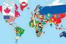 Neden mor renkli ülke bayrağı yok? Sebebi şaşırtıcı