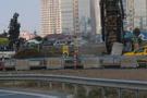 Kadıköy'de doğalgaz borusu patladı