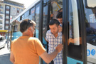 Belediye otobüsünde Erdoğan'a hakaret edince...