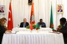 Türkiye ve Zambiya arasında 12 anlaşma imzalandı