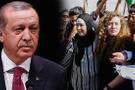 Cumhurbaşkanı Erdoğan, Filistinli Ahed Tamimi'yle görüştü