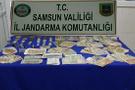 Samsun'da ele geçirildi: Biri 100 milyon diğeri 1 milyon dolar!