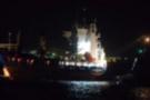 Tanker ile yük gemisi çarpıştı