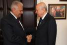 Başbakan Yıldırım Devlet Bahçeli ile bir araya geldi