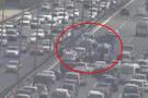 FSM'yi kilitleyen kaza 2 şerit kapalı