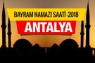 Antalya 2018 Bayram Namazı saatini diyanet açıkladı