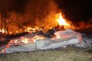 Kastamonu'da 8 ev yandı