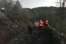Kaymakam ve vatandaşlar ormanı yanmaktan kurtardı!