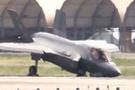 F-35'in burnu düştü! 80 milyon dolarlık uçağın düştüğü hale bak