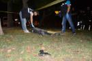 Parkta tabancayla vurulmuş erkek cesedi bulundu