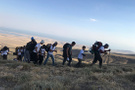 Van Gölü için gittiler: Kayıp İngiliz uçağını buldular!