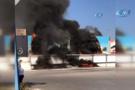 İzmir otogarında korkutan yangın