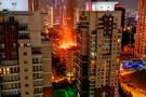 Ankara'da yangın! Bina tamamen boşaltıldı