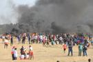 İsrail askerleri Gazze sınırında 240 Filistinliyi yaraladı!