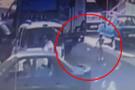 Sancaktepe'deki feci kaza saniye saniye kamerada